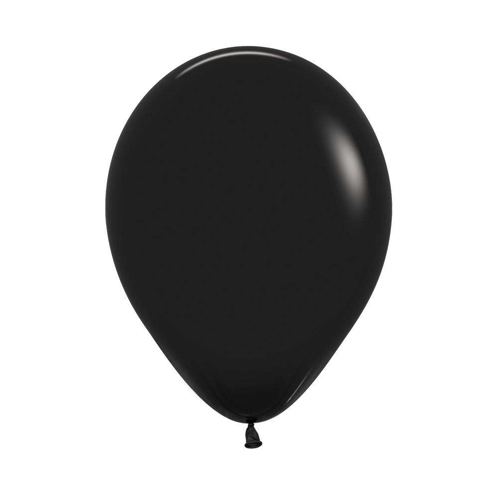 Латексный воздушный шар, цвет черный пастель