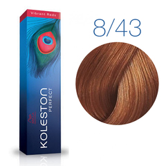 Wella Professional KOLESTON PERFECT 8/43 (Боярышник) - Краска для волос