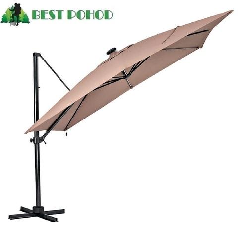 Зонт уличный на боковой стойке Bestpohod Lantern Luxe 3 м