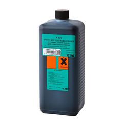 Краска штемпельная Noris 320E черная на водной основе с содержанием спирта 1000 г