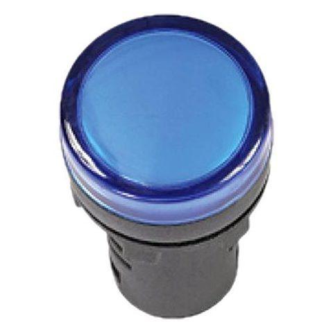 Лампа AD-16DS(LED)матрица d16мм синий 36В AC/DC TDM