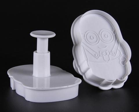 Миньоны - формы-прессы для печенья (2 шт)