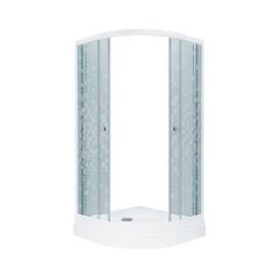 Душевой уголок Triton Стандарт-А1 90х90 стекла мозаика