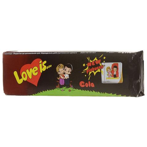 Жевательные конфеты Love Is - новые вкладыши, любимые вкусы (кола)
