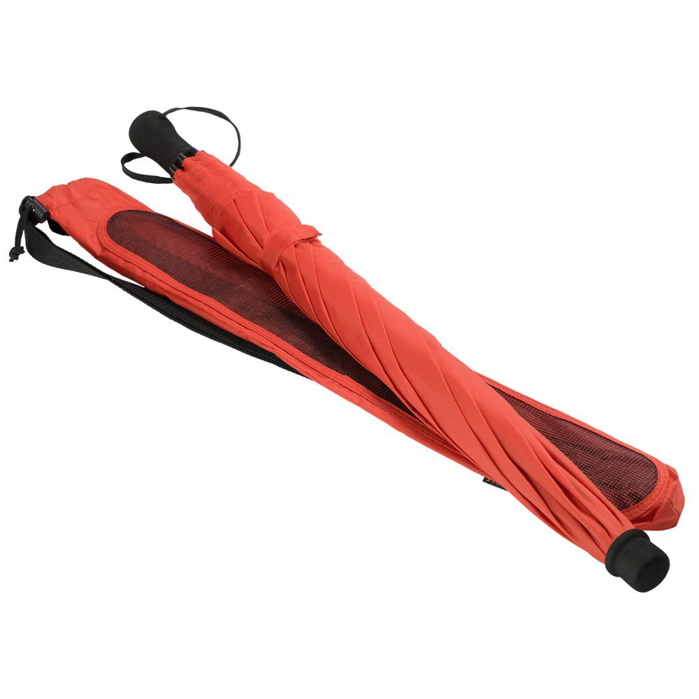 Hogg Trek Umbrella Cane, red