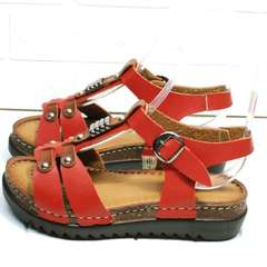 Кожаные босоножки сандалии на толстой подошве Rifellini Rovigo 375-1161 Rad.