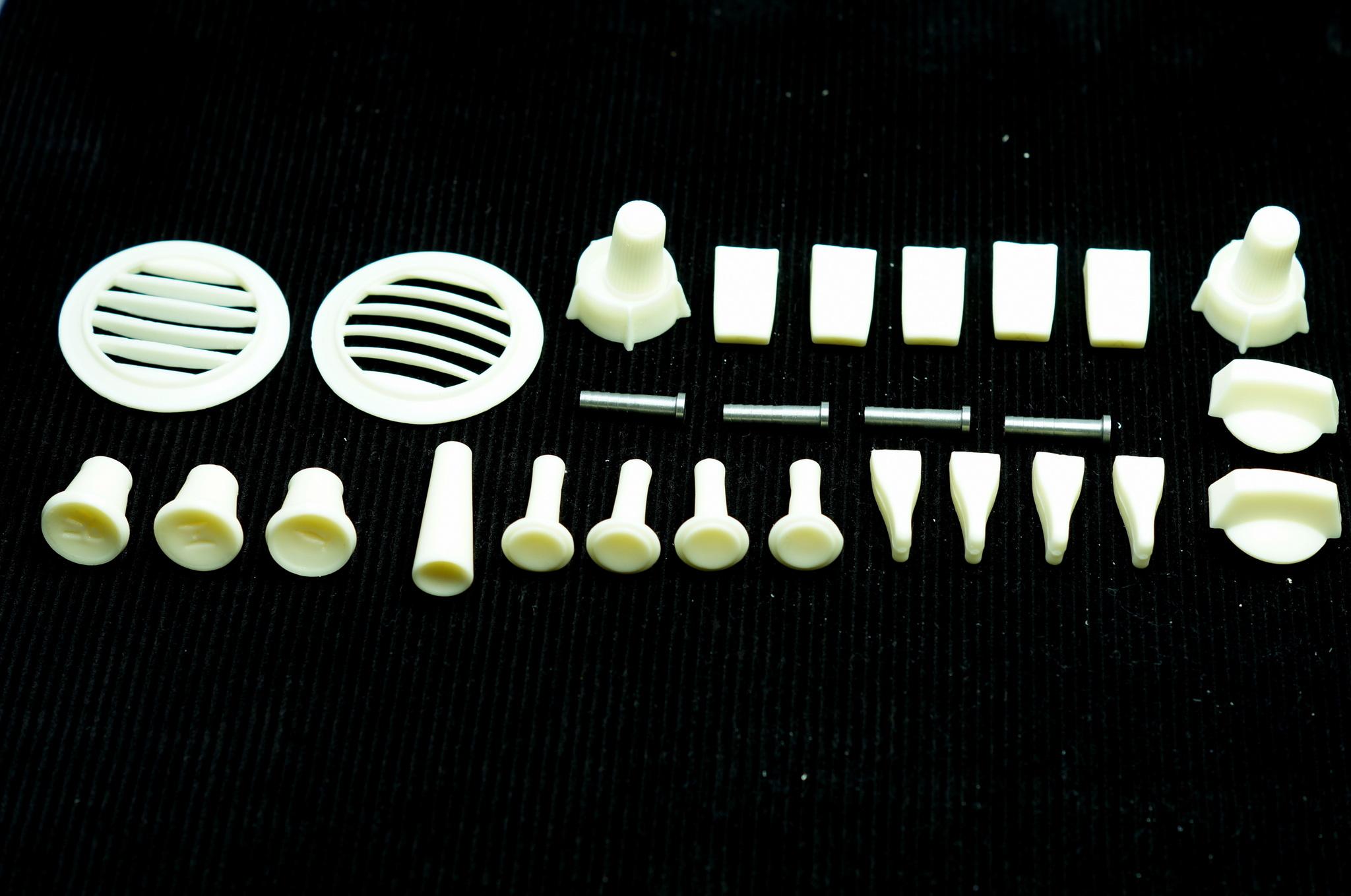 Пластик и кнопки салона Газ 24