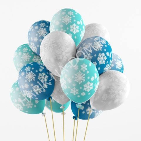 Воздушные шары на Новый Год Шары Снежинки large_Воздушные_шары_Снежинки-min.jpg