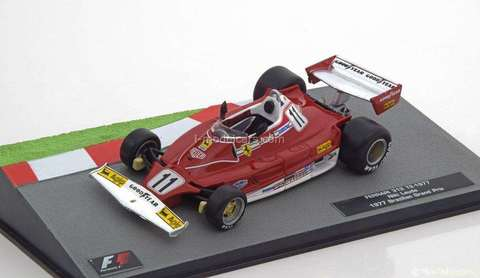 Ferrari 312T2 1977 Niki Lauda F1 1:43 Formula 1 Auto Collection Centauria #2