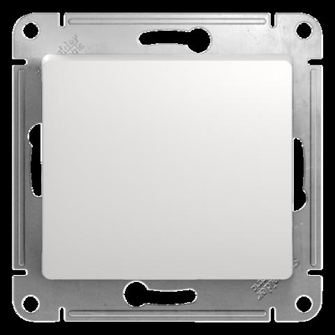 Переключатель одноклавишный, 10АХ. Цвет Белый. Schneider Electric Glossa. GSL000161