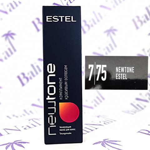 Тонирующая маска для волос NEWTONE ESTEL 7/75 Русый коричнево-красный (60 мл)