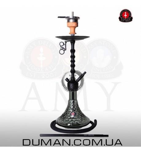 Кальян AMY Deluxe 072.01 Alu Antique Berry PSMBK-BK Black Mate