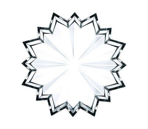 Блюдо звезда, артикул 49203. Серия Crystal Christmas