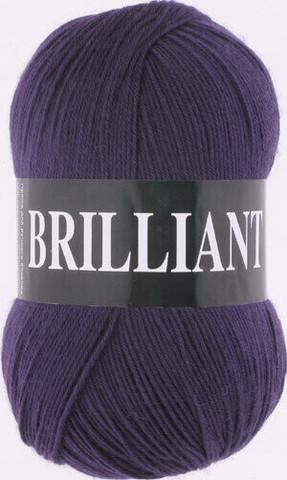 Пряжа Brilliant Vita 4977 темно-фиолетовый фото