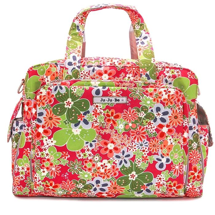 #Дорожная сумка Ju-Ju-Be Be Prepared Perky Perennials