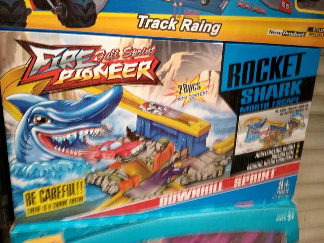 Дорога с акулой Rocket Shark