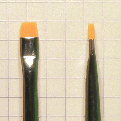 Кисть для растушевки карандаша для губ №4 (301921004)