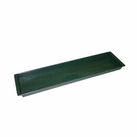 Поддон 49х12,5х2,5см, цвет:зеленый