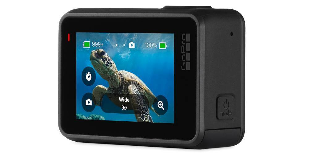 Экшн-камера GoPro HERO7 Black Edition (CHDHX-701-RW) экран