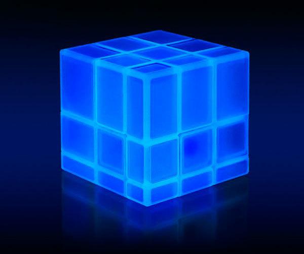Люминесцентный убик Luminous mirror cube