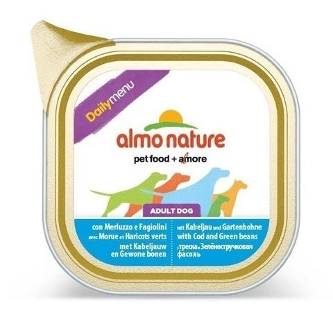 Консервы (ламистер) Almo Nature Daily Menu - Cod and Green Beans