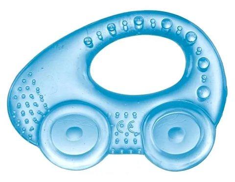 Прорезыватель водный охлаждающий - автомобиль, 0+ (2/207) (синий)