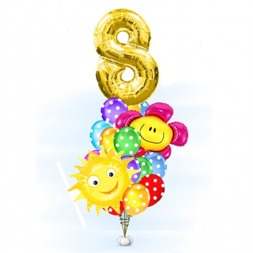 Композиции из шаров Букет ребёнку День Рождения с улыбкой buket-prazdnik-vesni-500x500.jpg