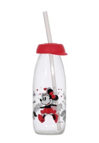 Бутылка детская с трубочкой minnie mouse 250 мл