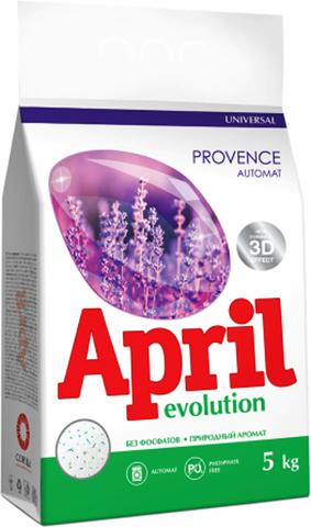 Сонца April Стиральный порошок Evolution provence Автомат 5кг