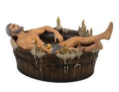 Ведьмак 3 фигурка Геральт в ванной