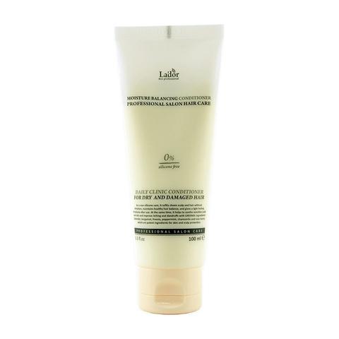 Увлажняющий бессиликоновый бальзам для волос 100 мл Lador Moisture Balancing Conditioner