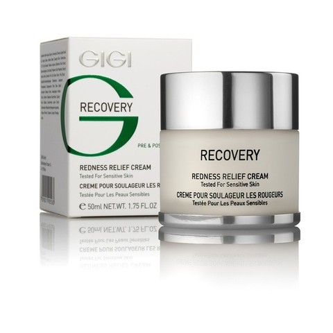 Gigi Recovery Redness Relief Cream, Крем против покраснения и отечности, 50 мл.