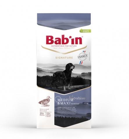 SIGNATURE MEDIUM & MAXI SENIOR (для взрослых собак средних и крупных пород от 6/7 лет на основе утки, курицы и свинины, гранулы 16-18 мм, 25/11) 15 кг