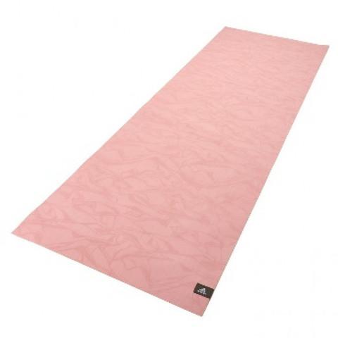 ADYG-10710CO Тренировочный коврик (мат) для йоги из натурального каучука Adidas, мрамор