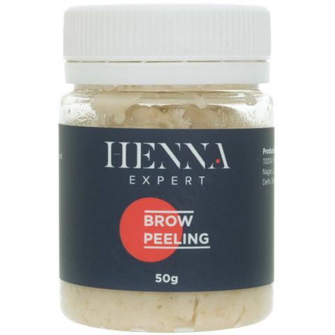 Пилинг для бровей Henna Expert