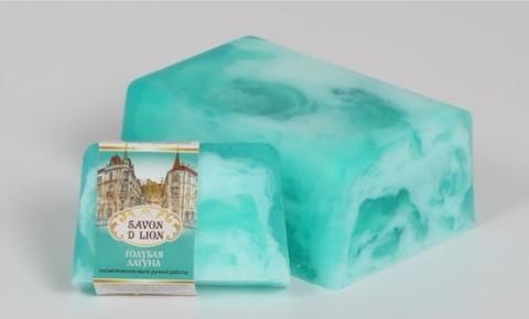 Косметическое мыло Голубая лагуна 100 гр. ТМ SAVON D LION