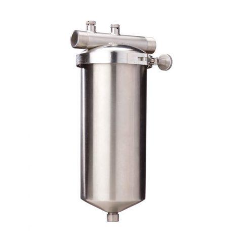 Магистральный мешочный водоочиститель Гейзер 4Ч