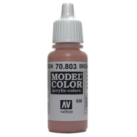 Model Color Brown Rose 17 ml.
