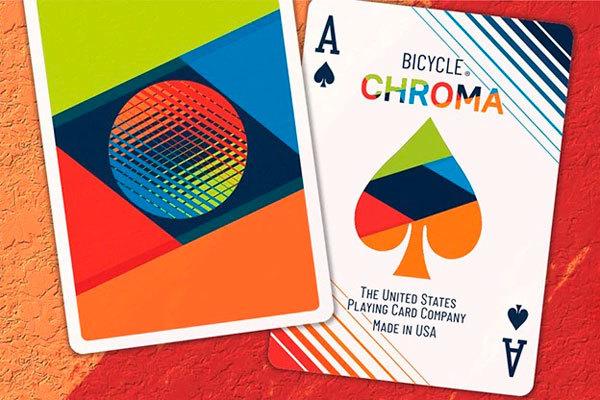 Игральные карты Bicycle Chroma