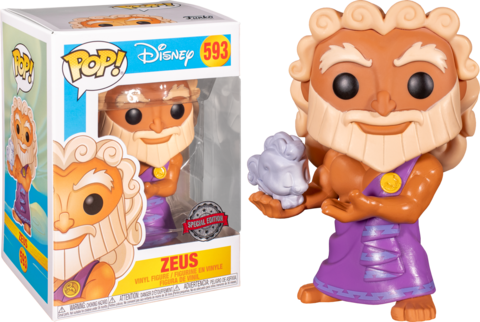 Фигурка Funko Pop! Disney: Hercules - Zeus (Excl. to Hot Topic)