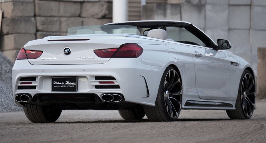 Обвес WALD Black Bison для BMW 6er F12/F13