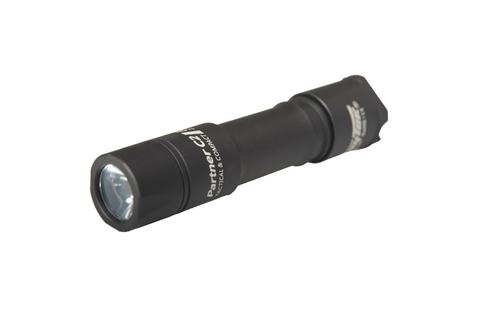 Фонарь светодиодный тактический Armytek Partner C2 v3, 1160 лм, теплый свет, аккумулятор