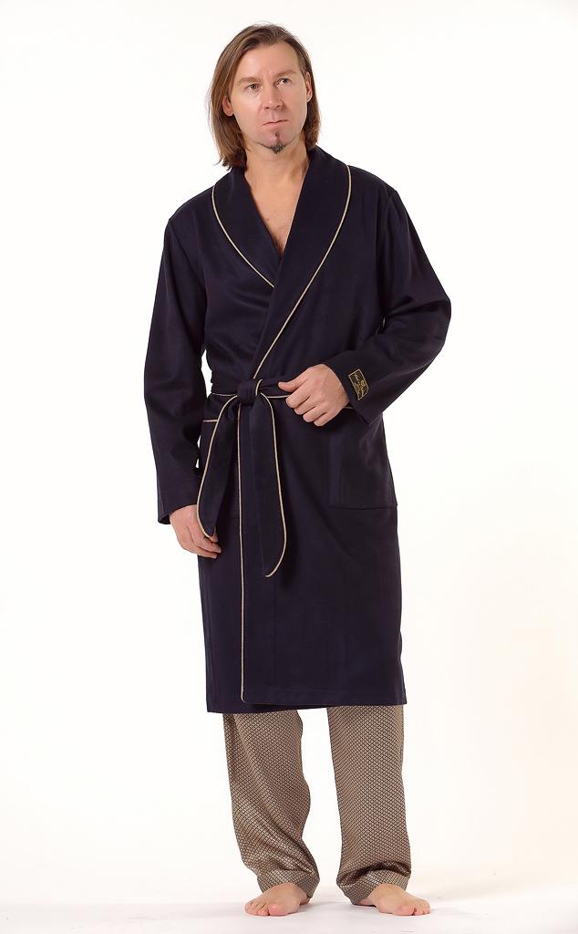 Теплый халат премиум класса B&B