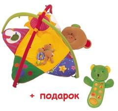 Акция!!! K's Kids Коврик-сидение в коляску + Музыкальный телефон с записью Сэм (KA256+KA296PB)