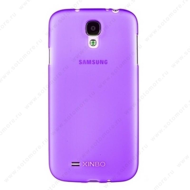 Накладка XINBO пластиковая для Samsung Galaxy S4 i9500/ i9505 фиолетовая