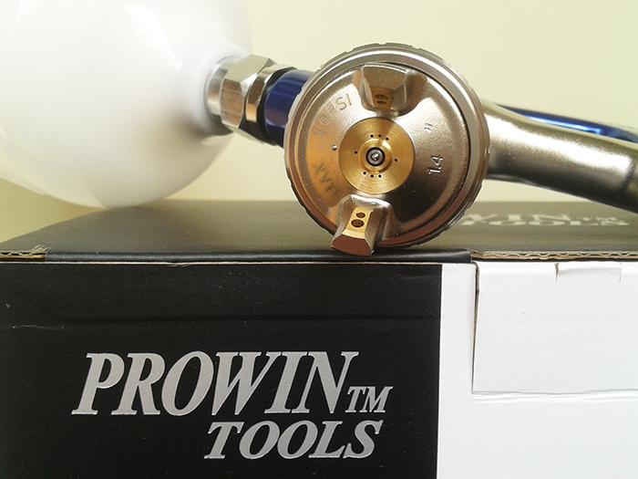 Краскопульт Prowin KH-818 M (HVLP), дюза 1.4