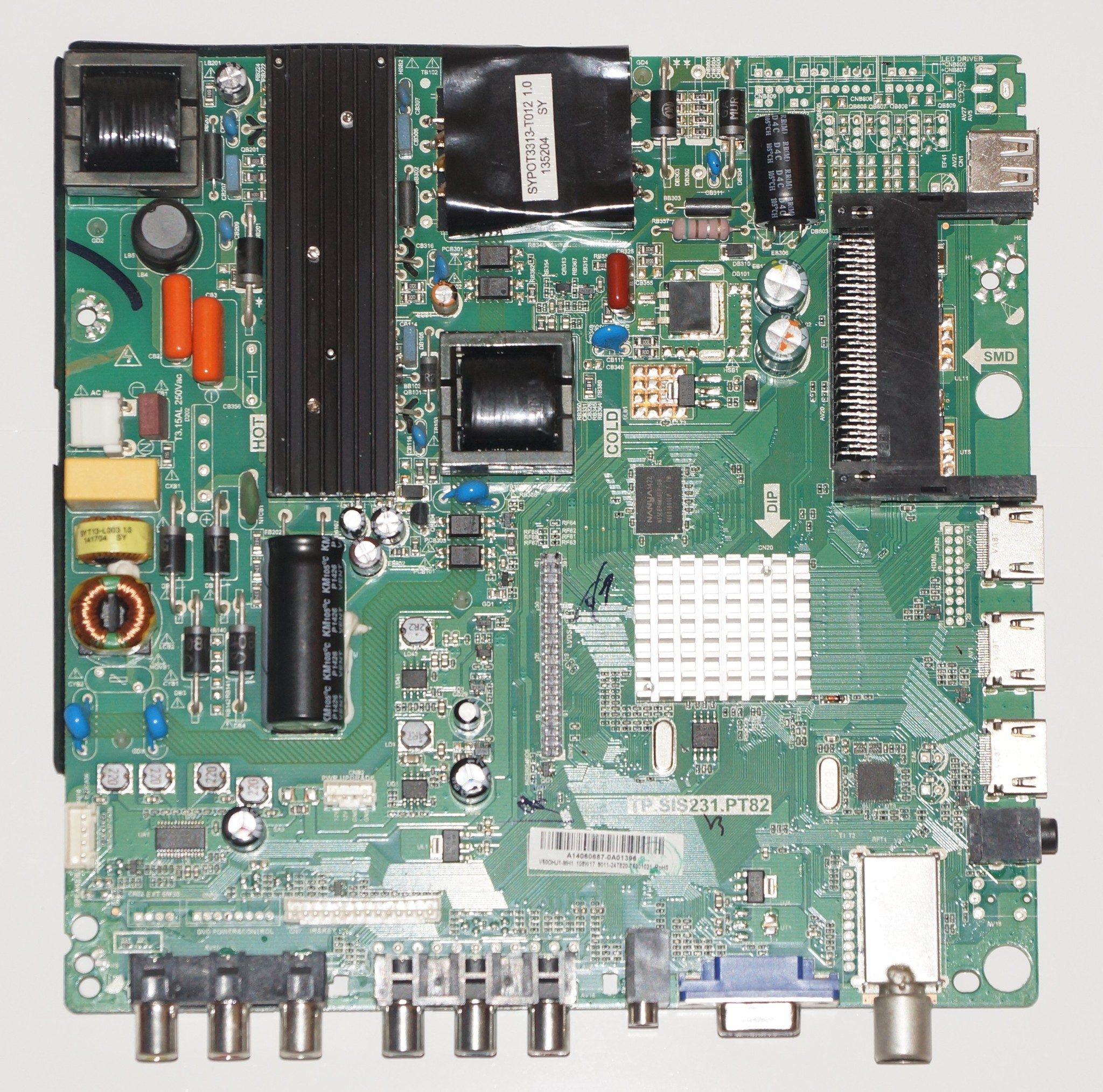 TP.SIS231.PT82 V50OHJ1-MH1 mainboard телевизора Telefunken TF-LED50S10T2