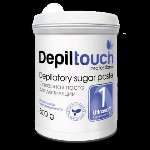 Сахарная паста для депиляции Depiltouch prof сверхмягкая 800 г.