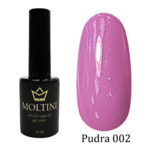 Гель-лак Moltini Pudra 002, 12 ml