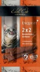 Лакомство для кошек Edel Cat Колбаски-мини, телятина, ливерная колбаса